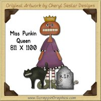 Miss Punkin Single Graphics Clip Art Download