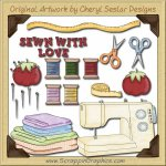 Sewing Elements Collection Graphics Clip Art Download