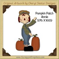 Pumpkin Patch Annie Single Graphics Clip Art Download