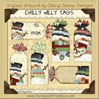 Chilly Willy Tags Limited Pro Clip Art Graphics