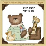 Baby Bear Single Graphics Clip Art Download