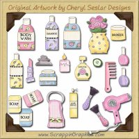 Sugar & Spice Collection Graphics Clip Art Download