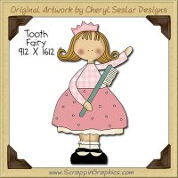 Tooth Fairy Single Clip Art Graphic Download