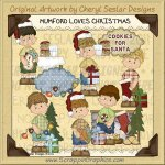 Mumford Loves Christmas Limited Pro Clip Art Graphics
