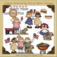 Summer Fun Clip Art Download