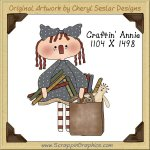 Craftin' Annie Single Graphics Clip Art Download