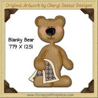 Blanky Bear Single Graphics Clip Art Download