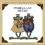 Foggys in Love Single Graphics Clip Art Download