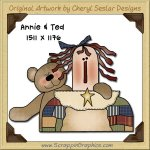 Annie & Ted Single Graphics Clip Art Download