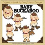 Little Buckaroos Clip Art Download