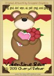 Valentine Bear Cutter Cutting Files Collection