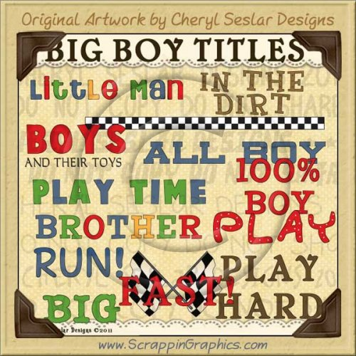 Big Boy Titles Limited Pro Clip Art Graphics
