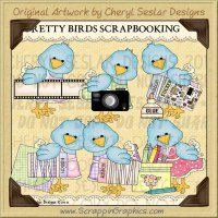 Pretty Bird Scrapbooking Limited Pro Clip Art Graphics