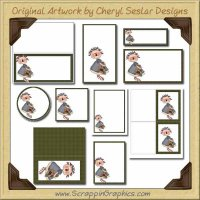 Annie's Quilt Printable Pack Graphics Clip Art Download