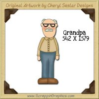 Granddad Single Graphics Clip Art Download