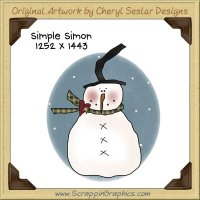 Simple Simon Single Graphics Clip Art Download