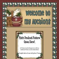 Christmas Cookie & Cocoa Auction Template