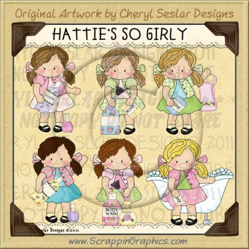 Hattie's So Girly Limited Pro Clip Art Graphics