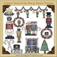 A Nutcracker Christmas Clip Art Download