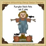 Pumpkin Patch Pete Single Graphics Clip Art Download