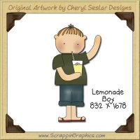 Lemonade Boy Single Graphics Clip Art Download