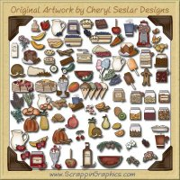 Scentsational Collection Graphics & Printable Clip Art Download