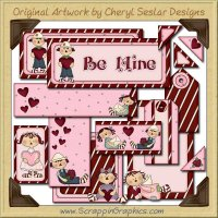 Annie Be Mine Journaling Delights Digital Scrapbooking Graphics Clip Art Download