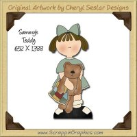 Sammy's Teddy Single Graphics Clip Art Download