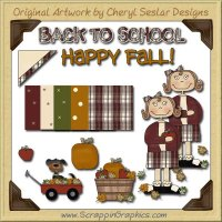 Fall Gal Graphics Clip Art Download