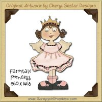 Fairytale Princess Single Graphics Clip Art Download
