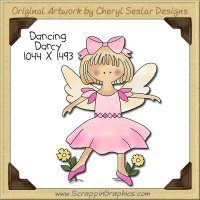 Dancing Darcy Single Clip Art Graphic Download