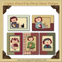 Simply Annie Cards Sampler Collection Printable Craft Download