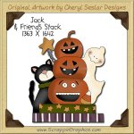 Jack & Friends Stack Single Clip Art Graphic Download