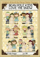 Bean Pole Kids Love The Snow Limited Pro Clip Art Graphics