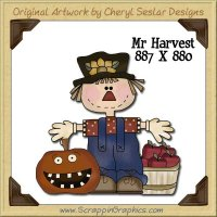Mr. Harvest Single Graphics Clip Art Download