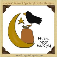 Harvest Moon Single Graphics Clip Art Download