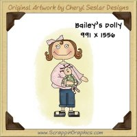 Bailey's Dolly Single Graphics Clip Art Download