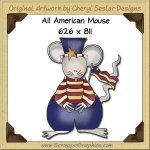 All American Mouse Single Graphics Clip Art Download