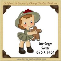 Little Ginger Sweetie Single Graphics Clip Art Download