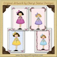 Flower For Mommy Sampler Card Printable Craft Download