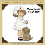 Nurse Sweetie Single Graphics Clip Art Download