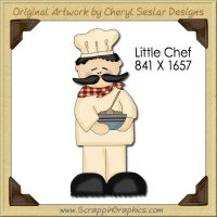 Little Chef Single Graphics Clip Art Download