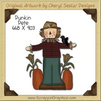 Punkin Patch Pete Single Clip Art Graphic Download