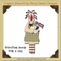 Primitive Annie Single Graphics Clip Art Download