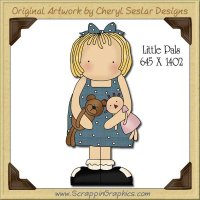 Little Pals Single Graphics Clip Art Download