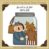 Annie In A Jar Single Graphics Clip Art Download