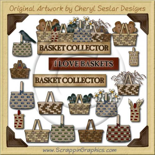 Basket Lover Graphics Clip Art Download