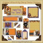 Costume Kiddies Journaling Delights Digital Scrapbooking Graphics Clip Art Download