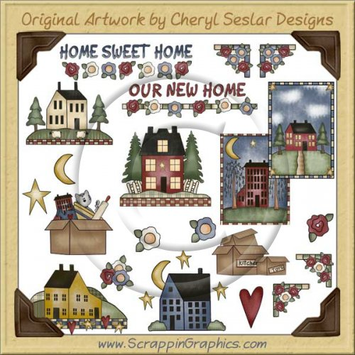 Home Sweet Home Clip Art Download