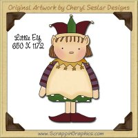 Little Elf Single Graphics Clip Art Download